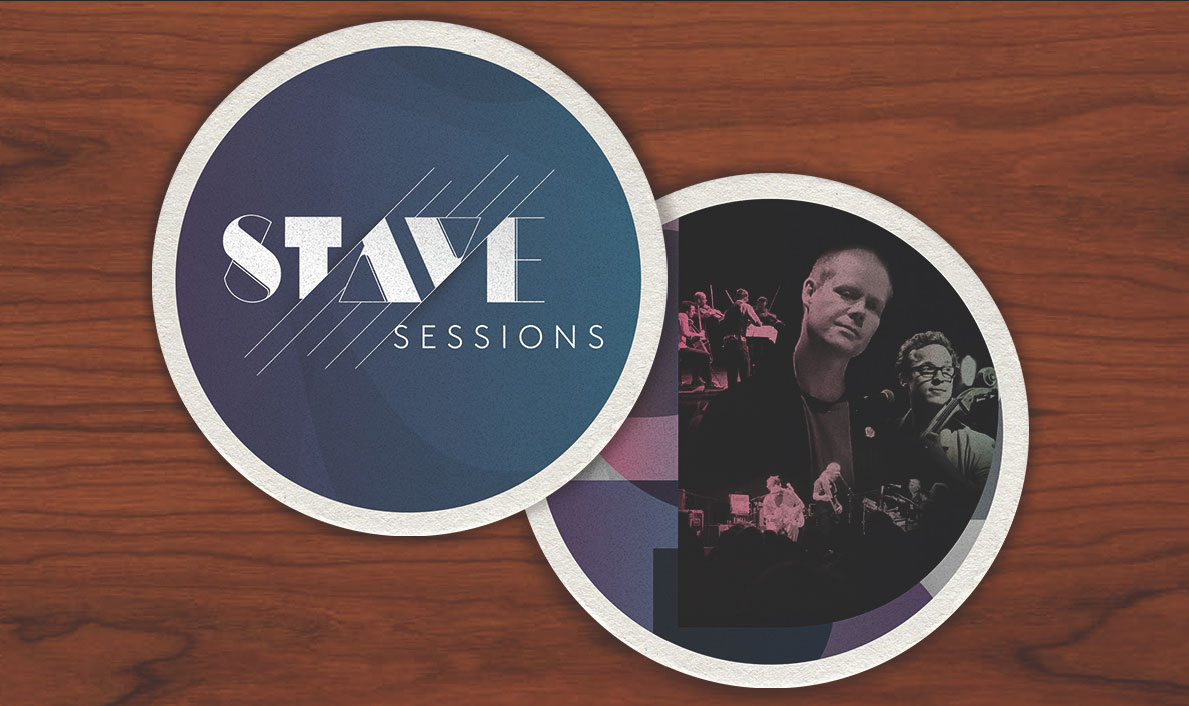 Stave Sessions Event Coasters